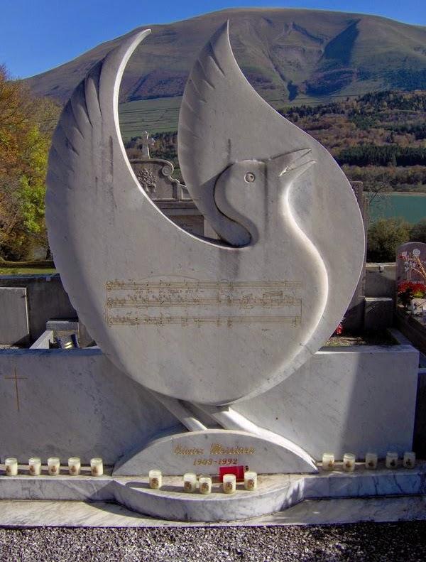 La tombe d'Olivier Messiaen