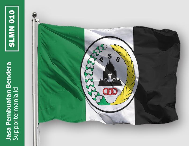 Desain Bendera atau Mini Flag PSS Sleman dan BCS 10