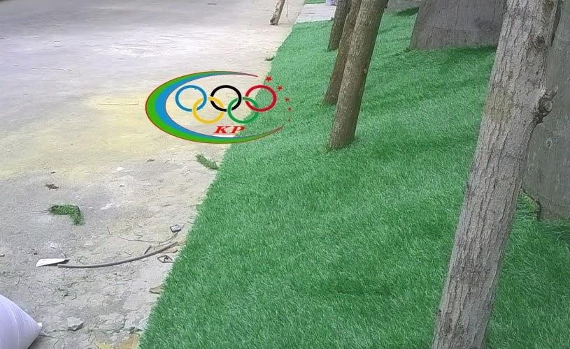 Làm sao để cỏ nhân tạo xài ốp tường sống động