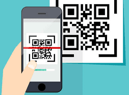 QR-код упрощает процесс оплаты