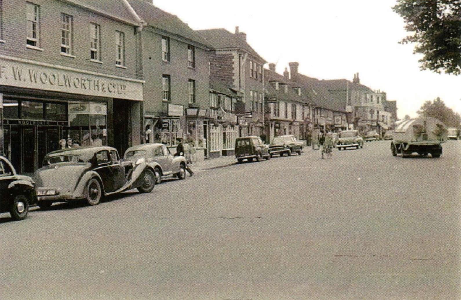 Tenterden High Street 1955
