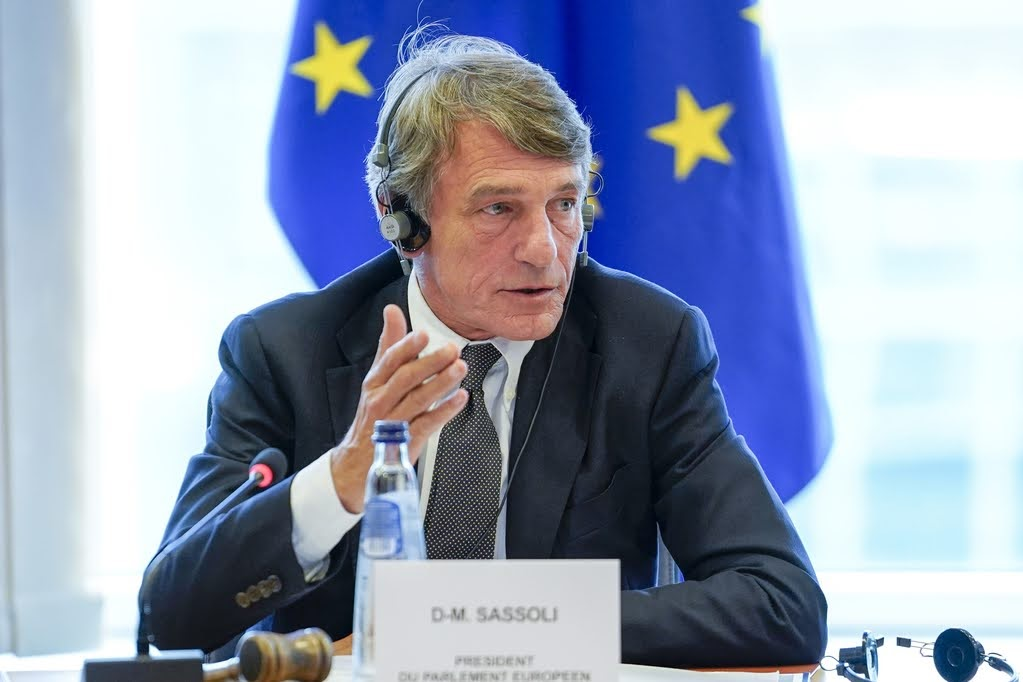 David Sassoli - Copyright: European Union, 2020