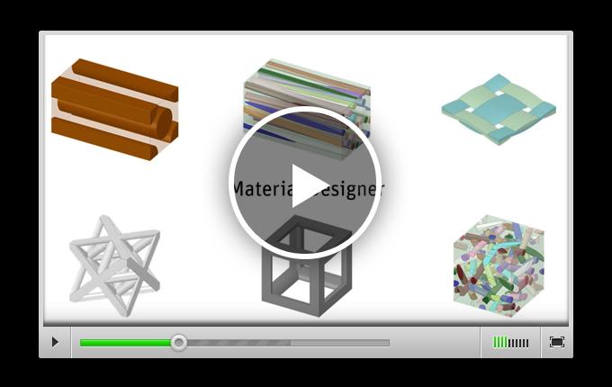 Демонстрация возможностей программного продукта Material Designer по получению гомогенизированных свойств сложных материалов и композитов