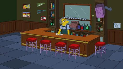 Los Simpsons 22x13 Azul y gris
