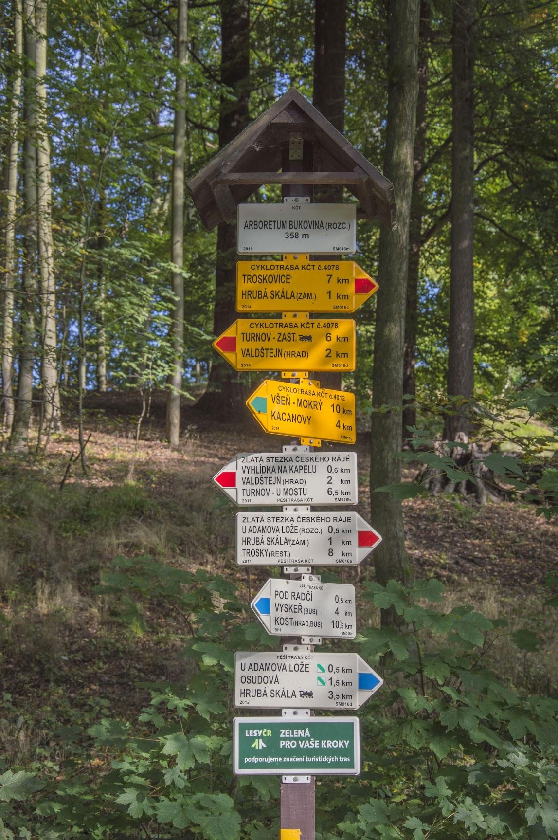 wandelen-Tsjechië
