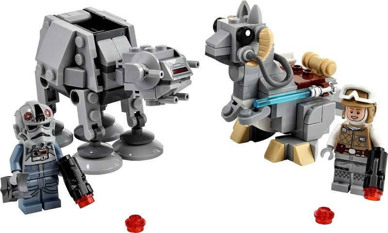 Contenido de Lego® 75298 Microfighters: AT-AT™ vs. Tauntaun™