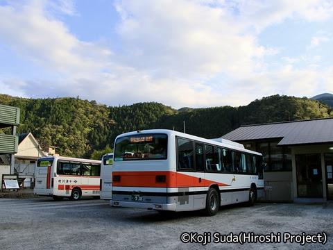 奈良交通「八木新宮線ツアー」 ・938 十津川温泉バスセンター_05