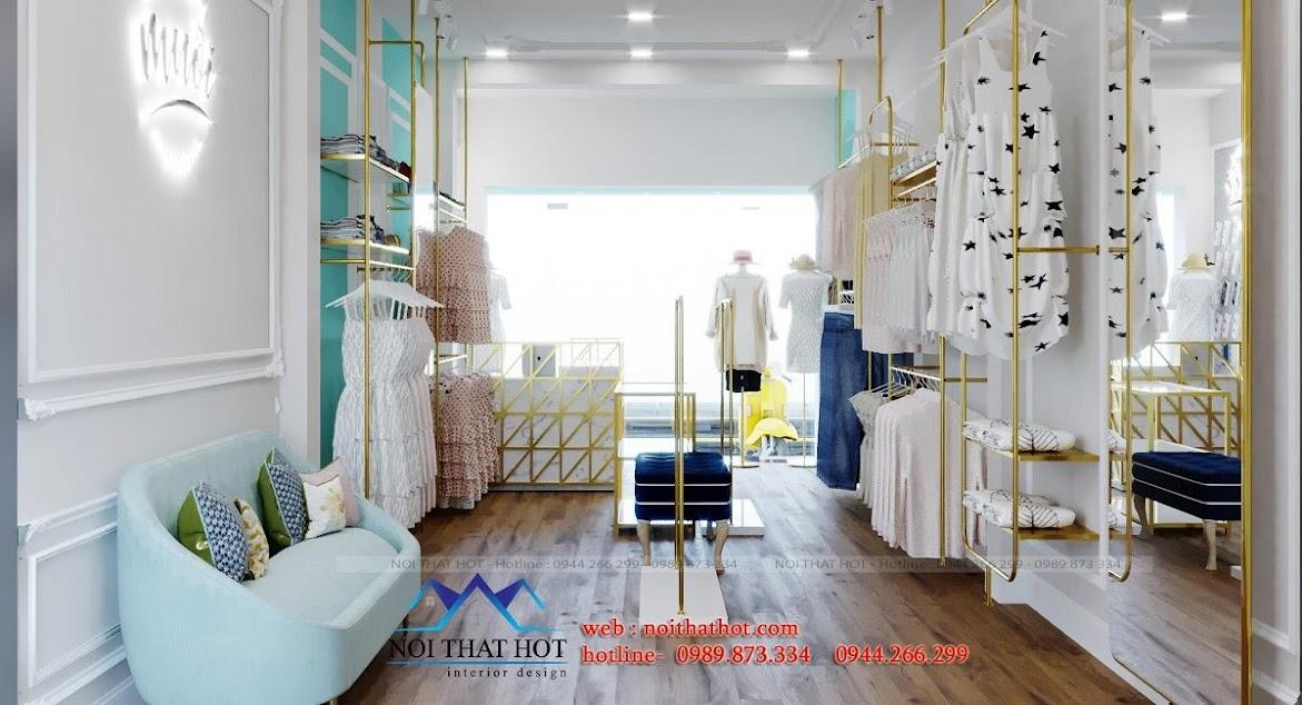 thiết kế shop thời trang nữ mênh thủy