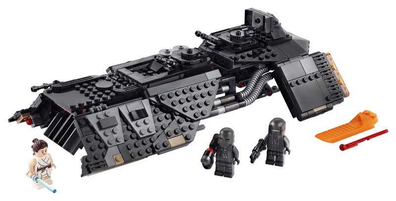 Contenido de Lego® 75284 Nave de Transporte de los Caballeros de Ren
