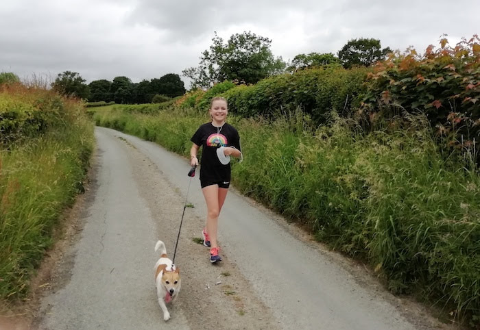 Meg runs for 83 days to raise cash for the NHS
