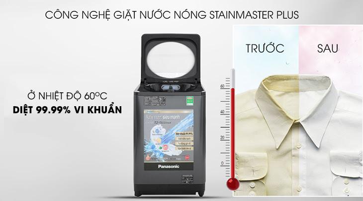 Diệt khuẩn 99.99% công nghệ StainMaster+