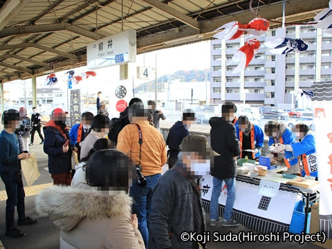 JR西日本 117系「WEST EXPRESS 銀河」 山陽ルート(上り)の旅_柳井駅_02