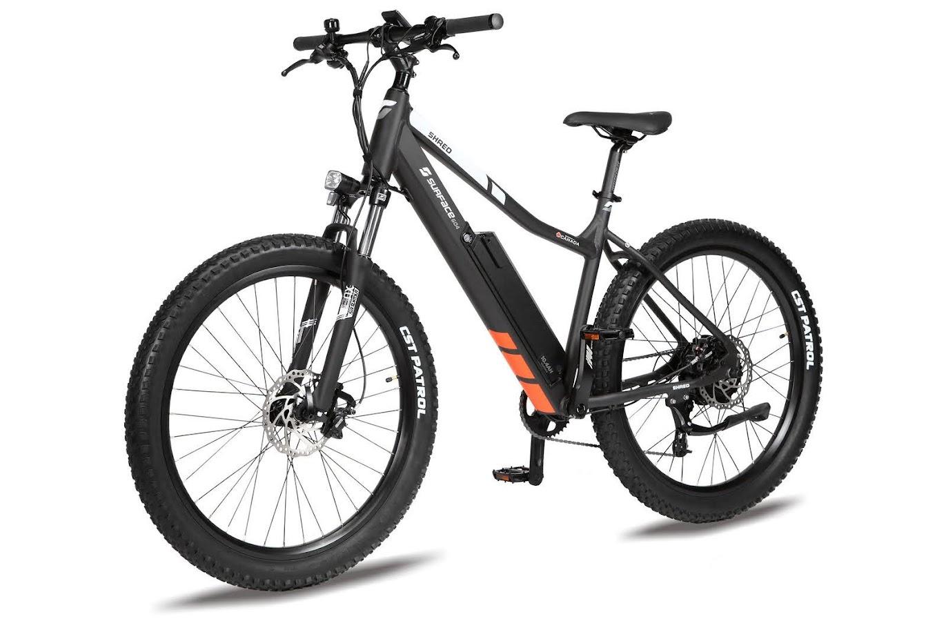 New Shred Electric 27.5 Hardtail 48V Mountain bike 500W ebike bicycle