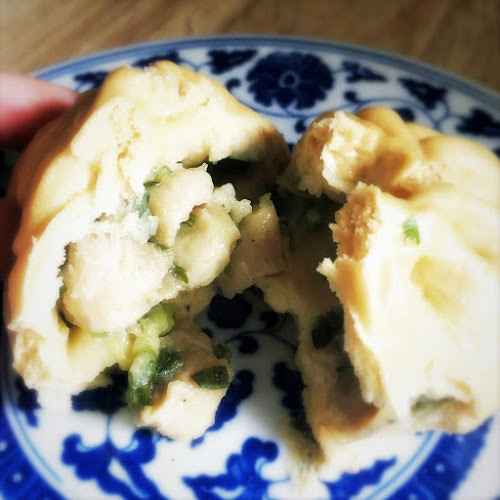 Chinese, traditional, recipe, Steamed buns, Chicken, chicken buns, Buns, 雞包仔, 蒸包
