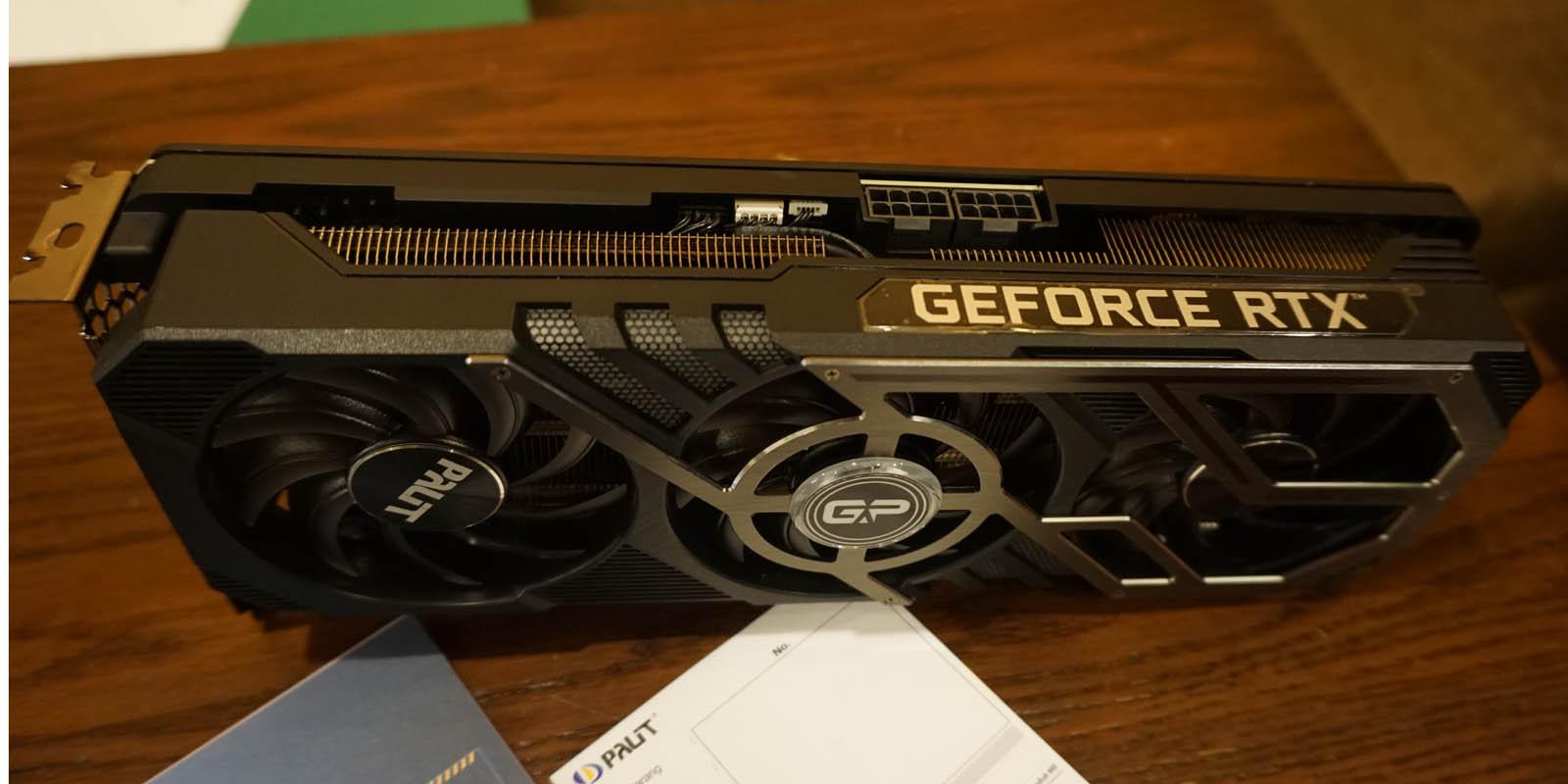 Review Palit GeForce RTX 3070 GamingPro OC - Design 02