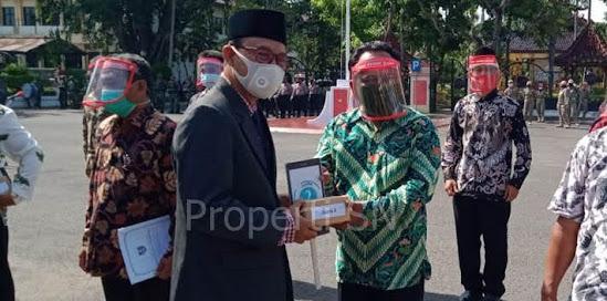 Upacara Hari Pahlawan Di Kabupaten Ngawi