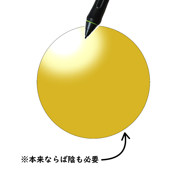 クリスタ「覆い焼き(発光)」使用例