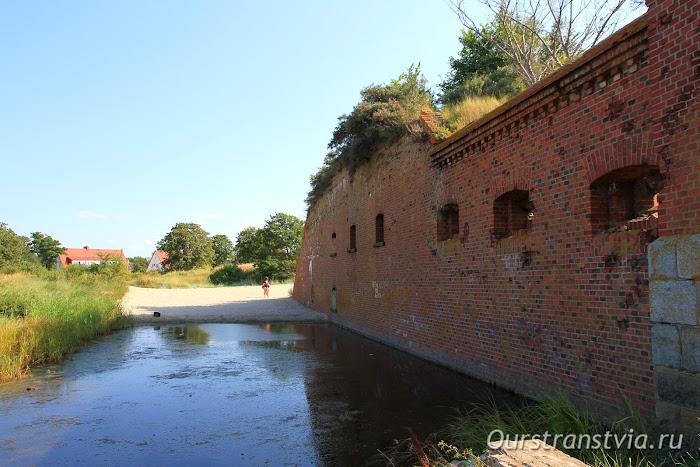 Западный форт, Балтийская коса