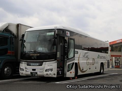 JRバス東北「百万石ドリーム政宗号」 H677-18408 菅生PAにて_01