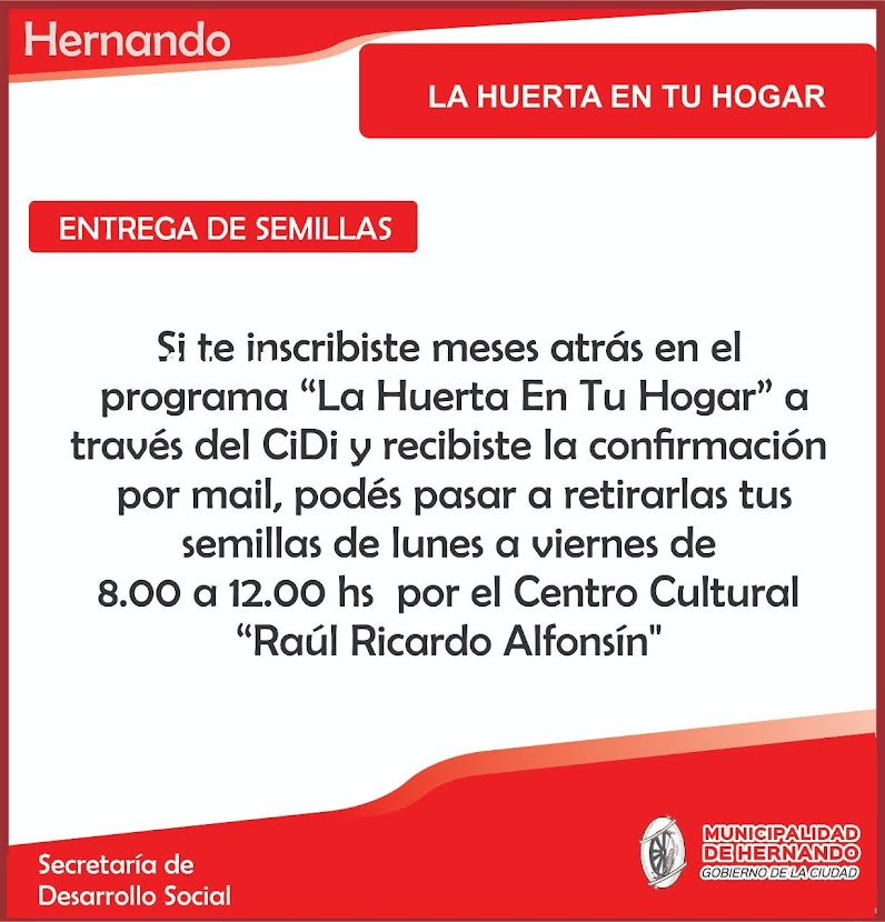 MUNICIPALIDAD DE HERNANDO
