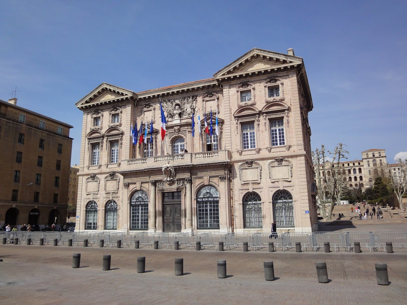 Hôtel de ville à Marseille