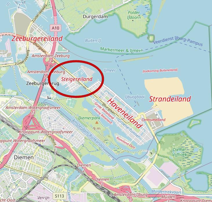 As Casas Flutuantes de IJburg em Amsterdã