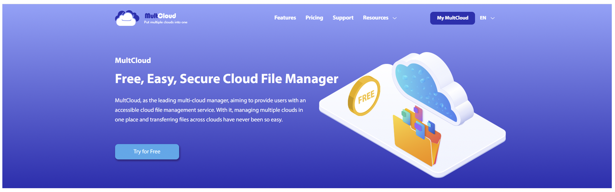 Best Free Way to Move Files across Clouds without Installing Application