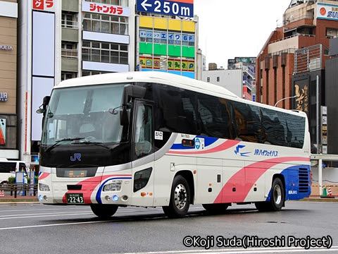 西日本JRバス「青春大阪ドリーム名古屋2号」 2243