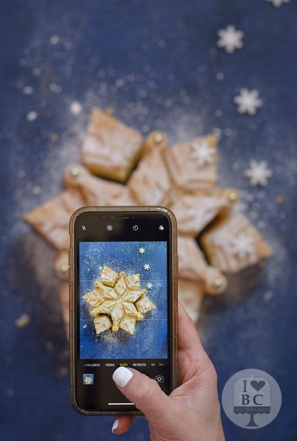 Almond Snowflake Cake