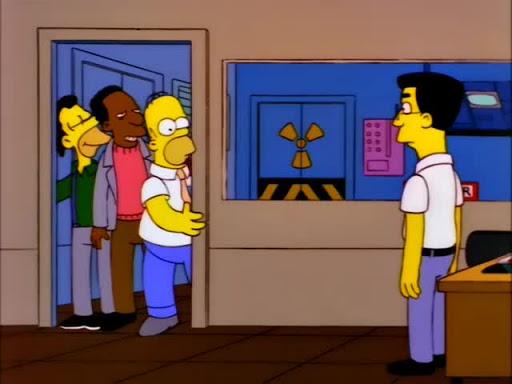 Los Simpsons 8x23 El enemigo de Homero