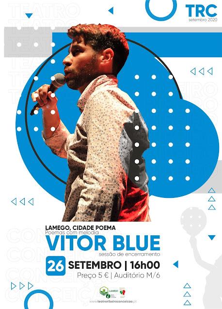 Vitor Blue encerra em palco