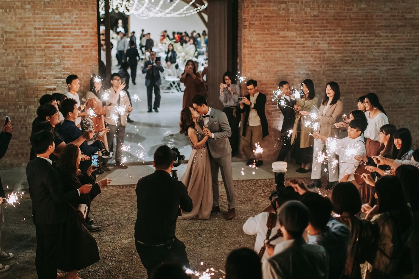 西式婚禮-仙女棒退場