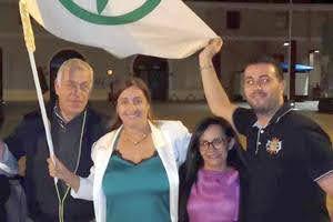 Angela Maraventano con Salvini