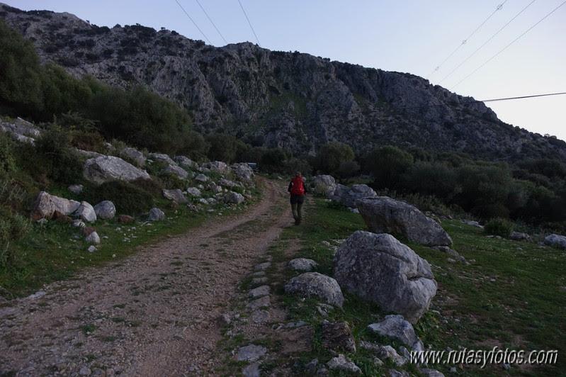 El Cintillo - Sierra Baja de Ubrique - Paso del Bombo - Ubrique - Cañada de los Pernales