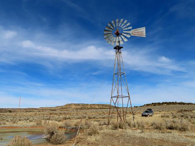 Windmill on Encinada Mesa