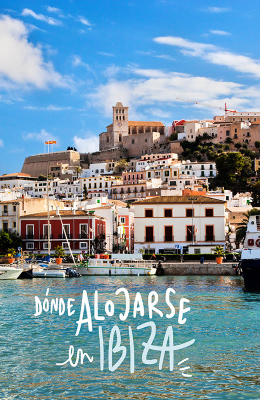mejores zonas donde alojarse en Ibiza
