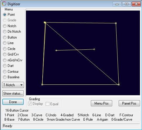 Cài Đặt Bảng Nhập Rập Số Hóa Digitizer Trong Optitex 2
