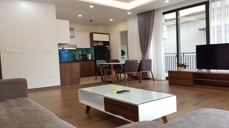 Brand – new one bedroom apartment in Quang Khanh street, Tay Ho district for rent