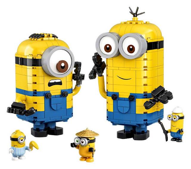 Contenido de LEGO® 75551 Minions y su Guarida para Construir
