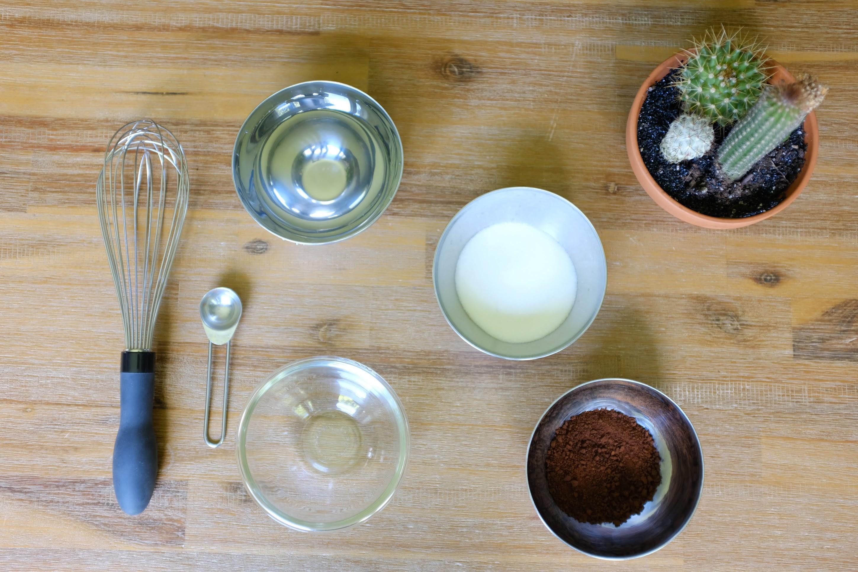 Ingredients for Dalgona