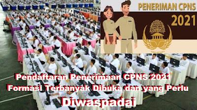 Link Pendaftaran Penerimaan CPNS 2021, Hingga Formasi Terbanyak Dibuka dan yang Perlu Diwaspadai