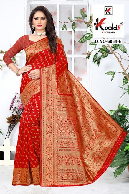 Buy Kodas Skoda 6064 Latest Sarees Catalog Online Wholesaler