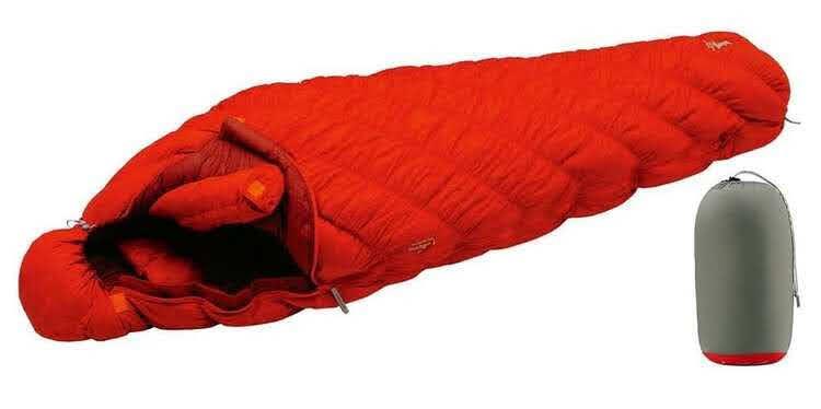 雪山テント泊登山におけるモンベルのシュラフ選び方
