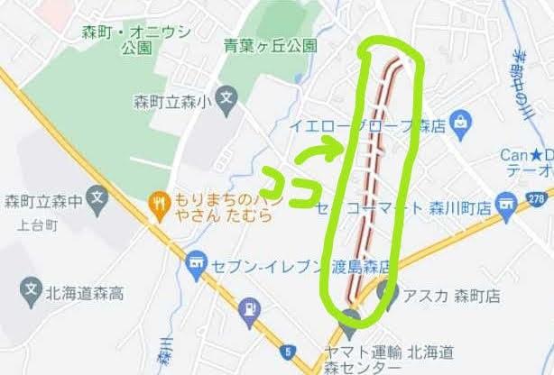 微笑み桜通り地図