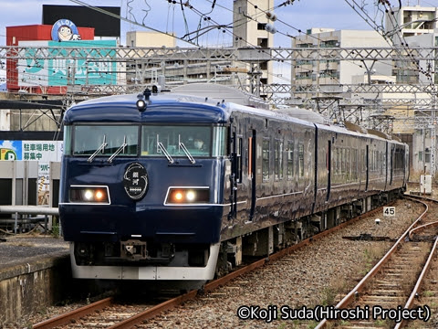 JR西日本 117系「WEST EXPRESS 銀河」 下関駅入線_01