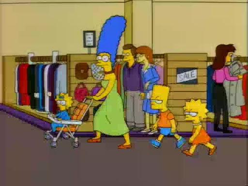Los Simpsons 8x14 El espectáculo de Tomy, Daly y Poochie