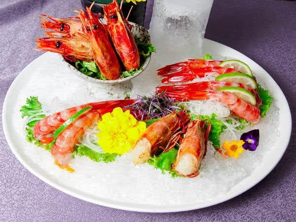 胭脂蝦生魚片