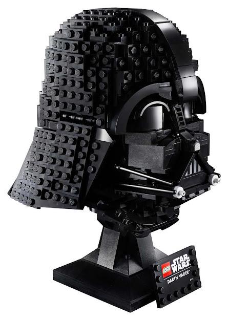 Contenido de Lego® 75304 Casco de Darth Vader™