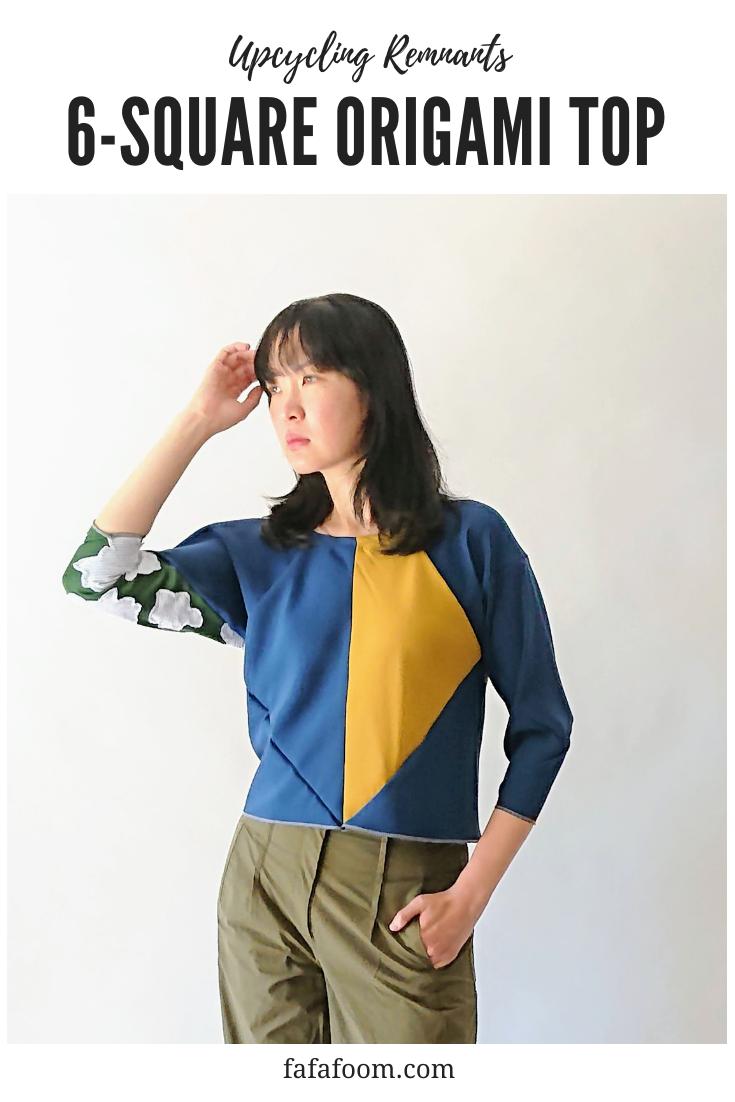 6-square Origami Top - DIY Fashion Garment | fafafoom.com