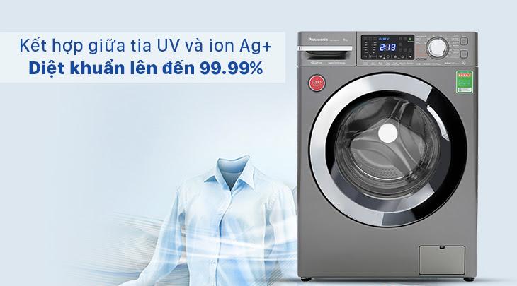 công nghệ giặt nước lạnh Blue Ag+: Diệt khuẩn hiệu quả đến 99.99%